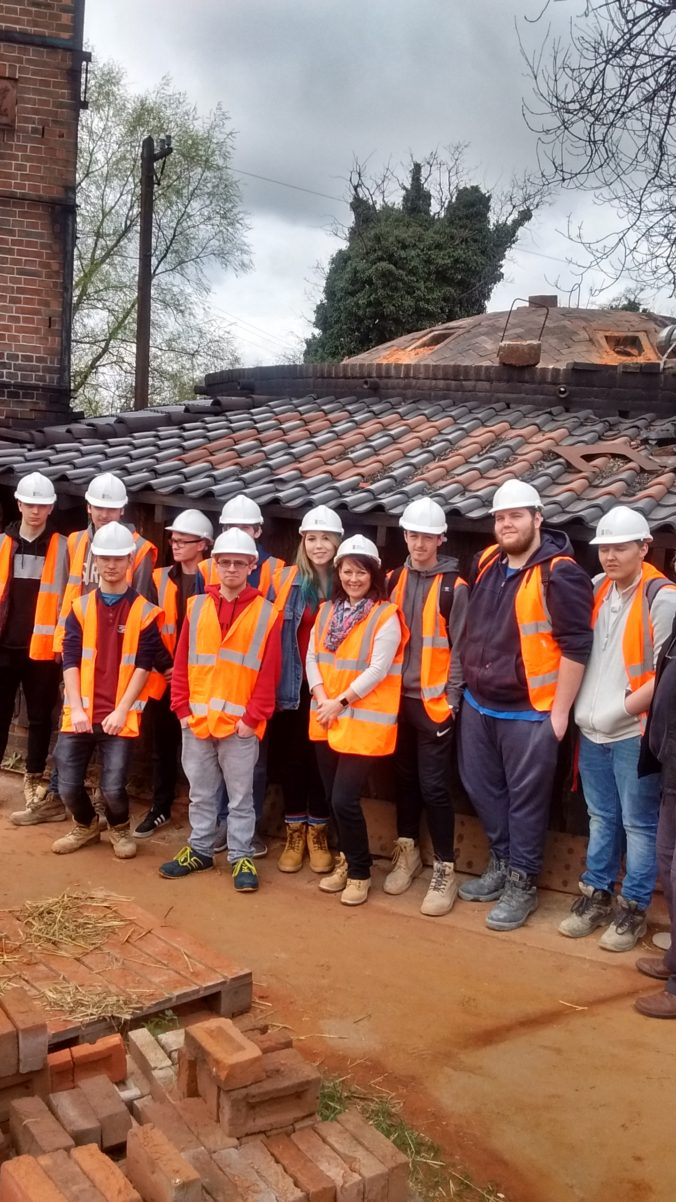 WSC Students at Bulmer Brick & Tile Co. 29.03.17